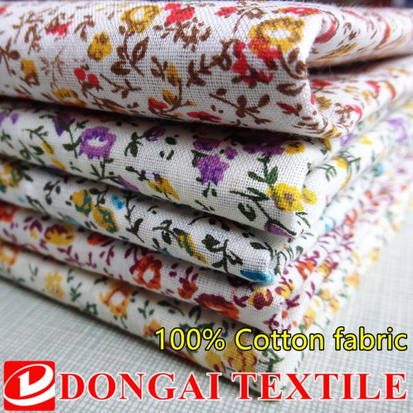 100cm*150cm New Green Floral Printed Cotton Fabric Telas Bundle DIY Patchwork Sewing Baby Toy Material Quilting Bedding Tecido