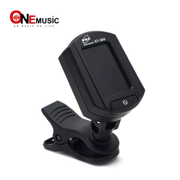 ENO ET-33U Ukulele Kromatik Gitar için clip-Dijital Tuner