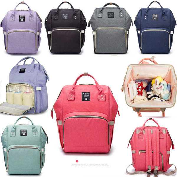 Mommy Backpack Bags Nappies Backpack Fashion Mother Maternity Backpacks Outdoor Desinger Nursing Travel Bags Organizer XHH7-869