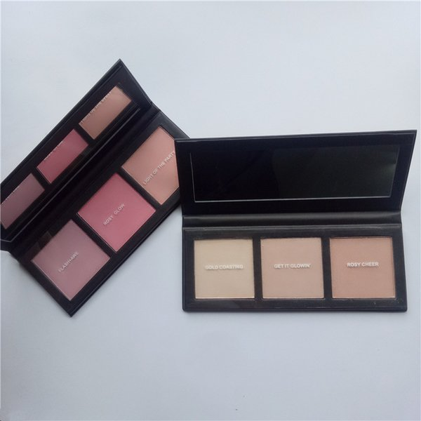New hot selling HYPER REAL GLOW PALETTE GET 3 colors highlighter blush IT GLOWIN OR FLASH+AVE PICK YR BNIB DHL