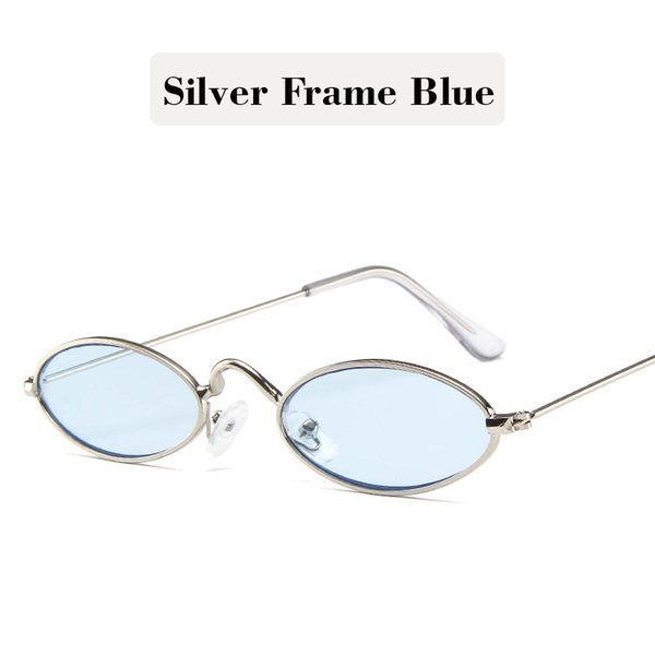Silver Frame Blue