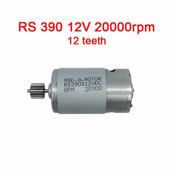 390 12V 20000rpm