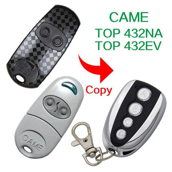 433.92Mhz Copy CAME TOP432-EV TOP432EV CAME TOP-432NA TOP432NA remote control For Universal Garage Door Gate Key Fob