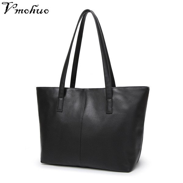 2019 Fashion VMOHUO Luxury Designer Women Totes Bags Genuine Leather Handbag Women's Shoulder Bag Female Briefcase Bag for Women Sac a Main