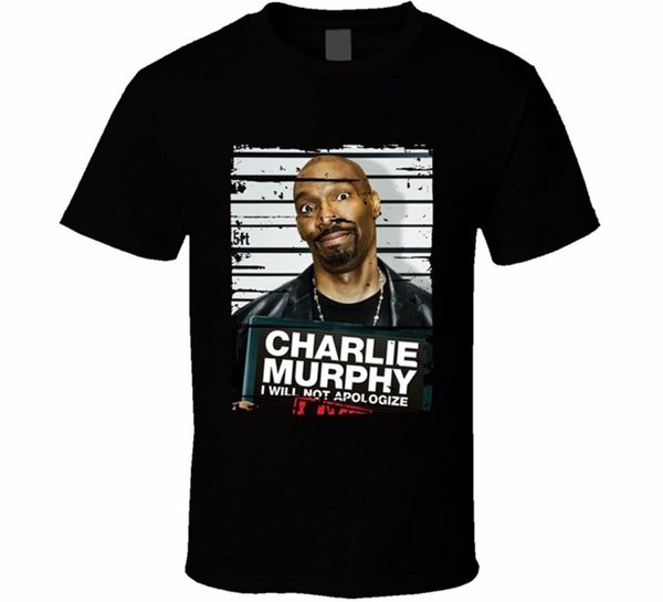 Custom T Shirt Design Men S Crew Neck Short Short Charlie Murphy I