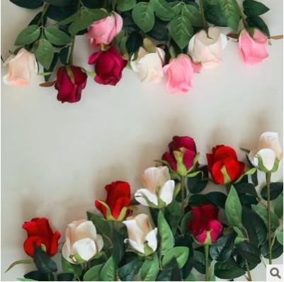 Compre Flores Artificiales De Seda Fake Rose As Natural Louis Garden Con Buen Precio Boda Arreglo Floral Rose Flower Wall Daily Home Deco Floar A