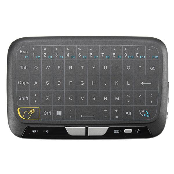 NEW Mini H18 Wireless Keyboard 2.4G Portable Keyboard With Touchpad Mouse for Windows Android Google Smart TV Linux Windows Mac