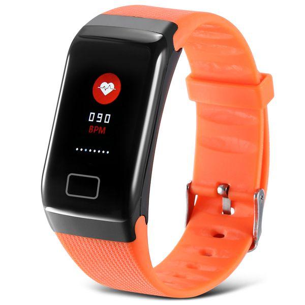 2018 X7 Pro intelligent Montre numérique de fréquence cardiaque sang Appuyez sur Tensiomètre Bracelet Sommeil Moniteur Pedomitor Wristband J30 Wrisrtband