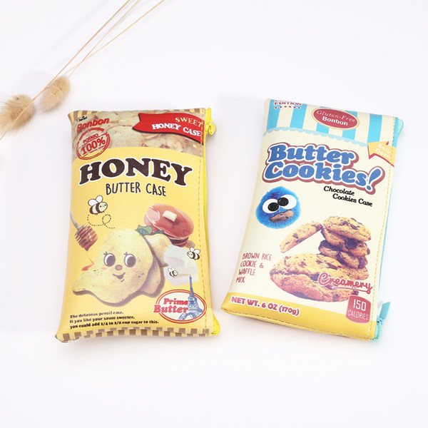 0590 creative snacks, potato chips, cookies, pencil case bags, stationery bags, mobile phone wallet storage bag