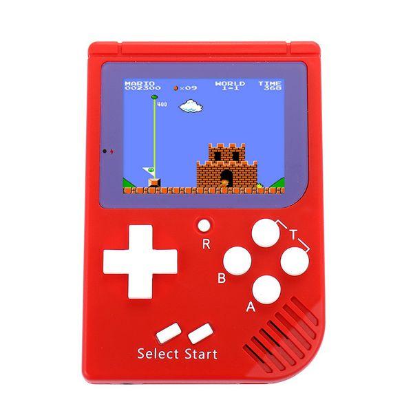 CoolBaby RS-6 El Oyun konsolu Mini Klasik video Oyun oyuncu Renk LCD 2.5 Inç 129 oyunları Perakende kutusu ile DHL ücretsiz kargo