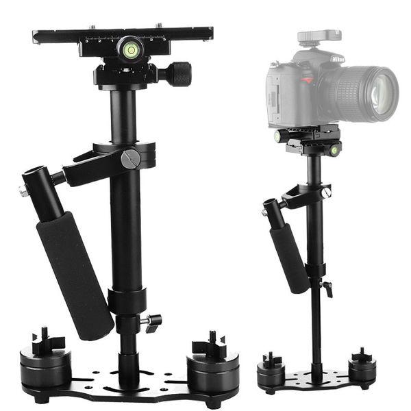 S40 + 0,4 Mt 40 CM Aluminiumlegierung Handheld Steadycam Stabilisator für Steadicam für Canon Nikon AEE DSLR Videokamera