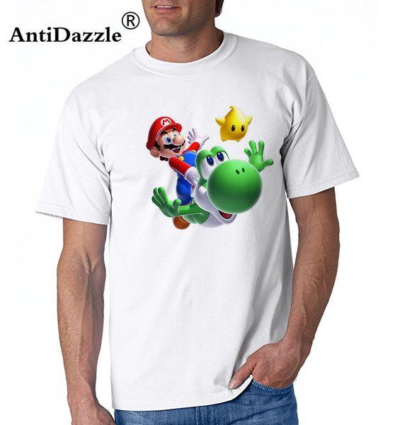 Compre Camiseta Casual Corta Hombre Super Mario Galaxy T Con Mario ...