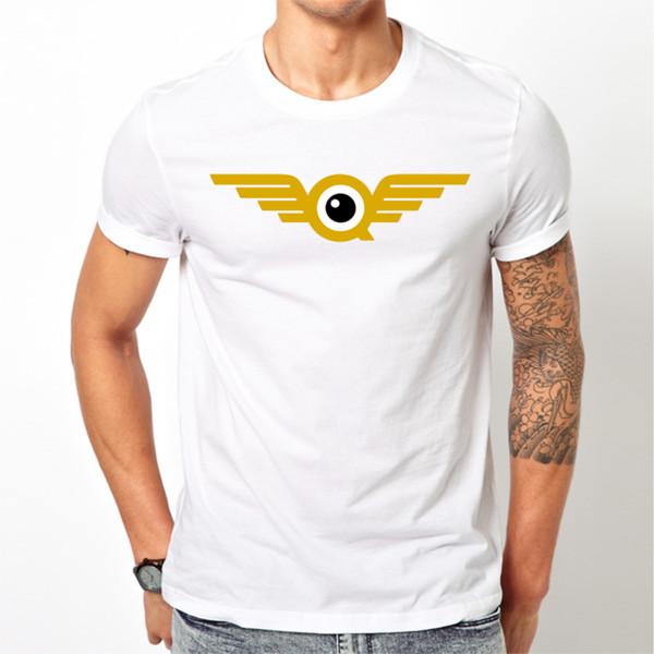 Tops wholesale Tee custom Environmental printed Tshirt cheap FlyQuest T-Shirt - League of Legends - White or Black Fashion Style Men Tee