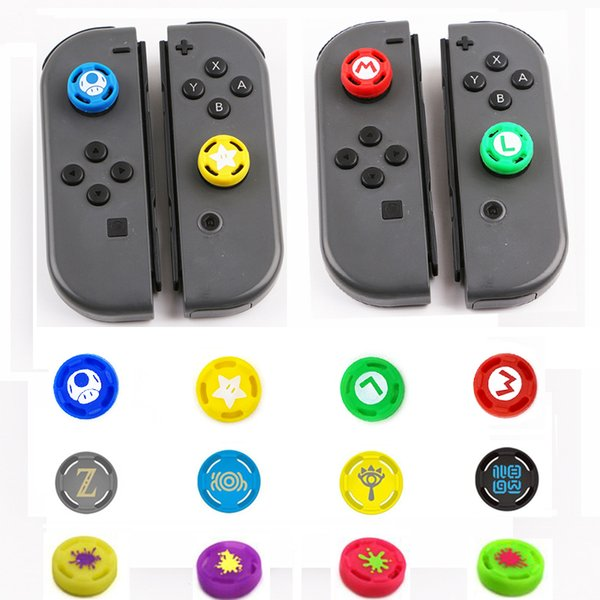 Silicone Analog Thumb Stick Grips Caps For Nintend Switch NS JoyCon Controller Sticks Cap Skin for Joy-Con Cover