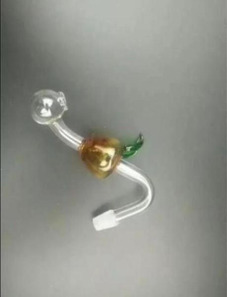 Birnenförmiger Topf Großhandel Glaspfeifen Ölbrenner Glaspfeifen Wasserpfeifen Bohrinseln Rauchen smoke tube14