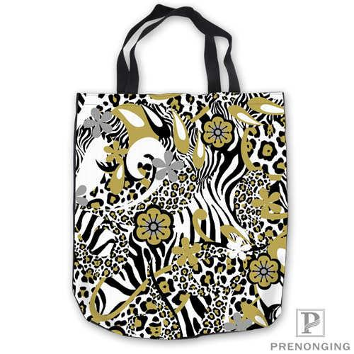 ff5b2910c538 Custom Canvas Leopard Print ToteBags Hand Bags Shopping Bag Casual Beach  HandBags Casual 180713-04-8