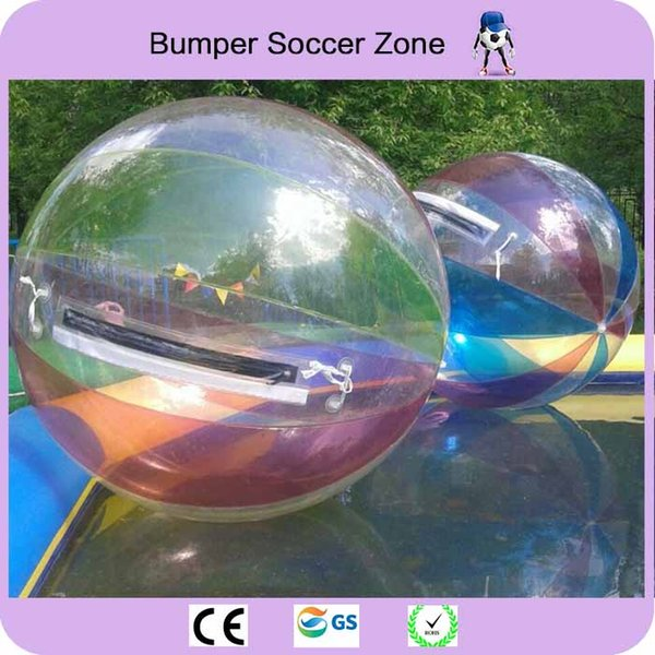 Air Zorb Ball 0.8mm PVC 2m Colorful Inflatable Water Walking Ball Inflatable Human Hamster Ball Water Zorb Balloon Water Roller Balloon