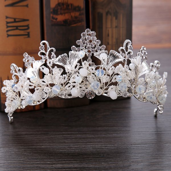 Bridal accessories baroque crown handmade bridal tiara dress wedding accessories bridal continental crown