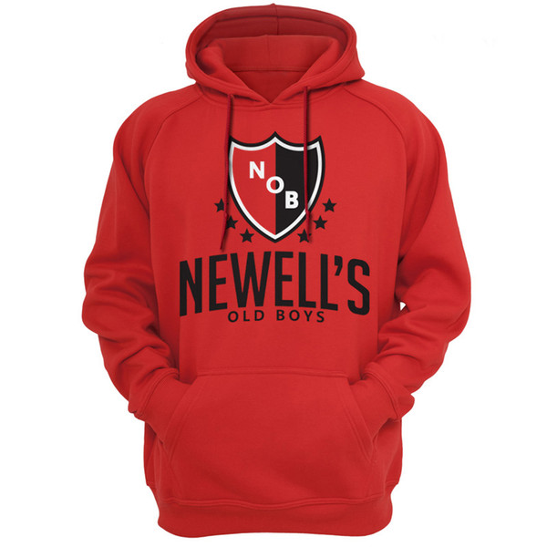 Newells Old Boys Argentina club FC Hoodies Sweatshirts Casual Apparel Hooded Hoody Spring autumn season Outerwear clothing 128