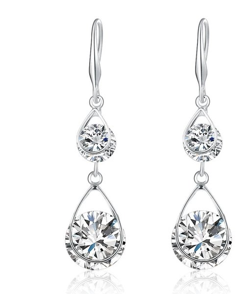 Pure Silver Lemon Earring Female Temperament Korean Personality with Small Fresh Ear Nail Simple and Lovely Fruit Earrings