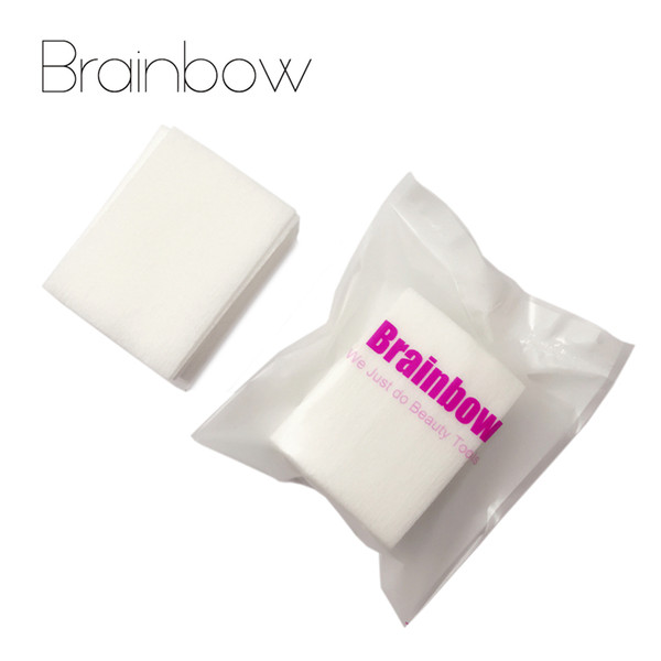 Brainbow 400pc Nail Polish Cleaning Dry Wipes Cotton UV Gel Nail Polish Remover Art Dry Papers Pads Art Manicure Tools