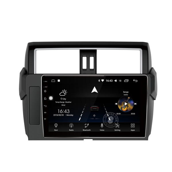 """10.1"""" IPS 2.5D Touch Screen OCTA Core Android 8.0 Car DVD Car Stereo Player for Toyota PRADO 2013-2017 GPS BT Wifi Mirror Link"""