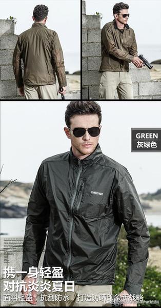 Sale Spring Autumn new Men's Outdoor tops Men Fashion hooded jacket north Men Windbreaker Zipper Waterproof Coats Mountaineering suit