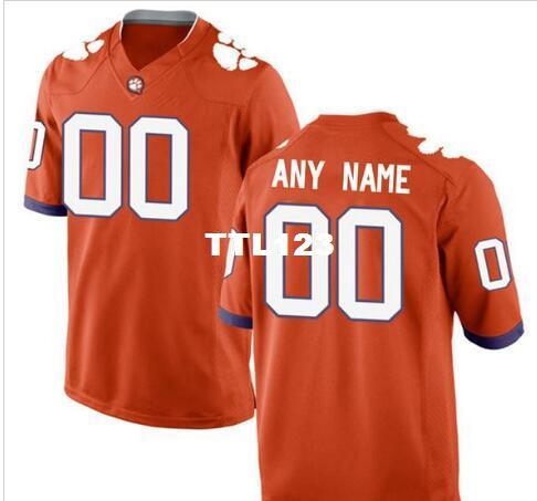 CUSTOM Mens,Youth,women,toddler, Clemson Tigers Personalized ANY NAME AND NUMBER ANY SIZE Stitched Top Quality College jersey