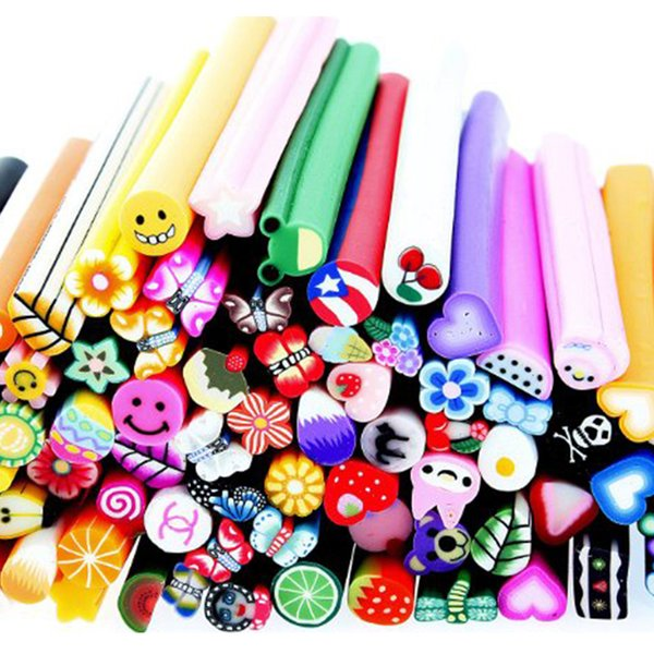 1 pack / 100 unids Nail Art Nailart 3d manicura diseño bastones Bastones Pegatinas Pegatinas de Gel Mujeres Uñas herramientas de maquillaje