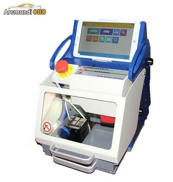 New Used Key Cutting Machine Miracle SEC-E9z Free Upgrade Portable Locksmith Tools High Security Car Key Machine