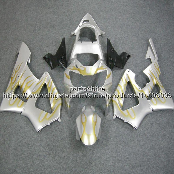 23colors+5Gifts Injection mold ABS silver Fairing For Honda CBR929RR 2000-2001 CBR929 RR 00 01 CBR 929 RR bodywork motorcycle plastic