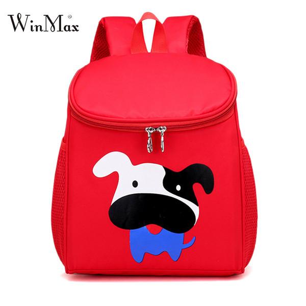 New 3D Cute Animal Design Backpack Kids School Bags For Girls Boys Fashion Cartoon Children Backpacks 3-6 Yars Old Dog Rabbit