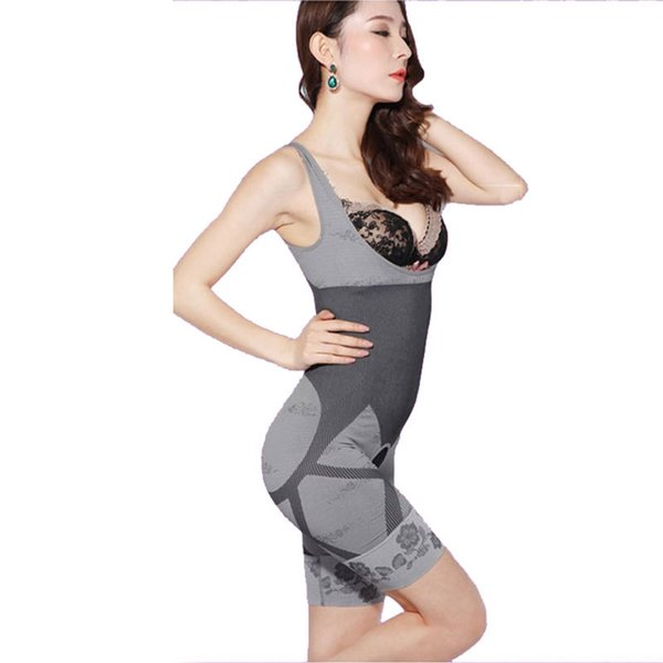 209073d6b 2016 Women s High Quality Slim Corset Slimming Suits Body Shaper Charcoal  Sculpting Underwear 6 Size Slimming