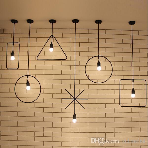 Industrial Vintage Pendant Lighting Fixture Celling Light  Bar Hanging Lamp