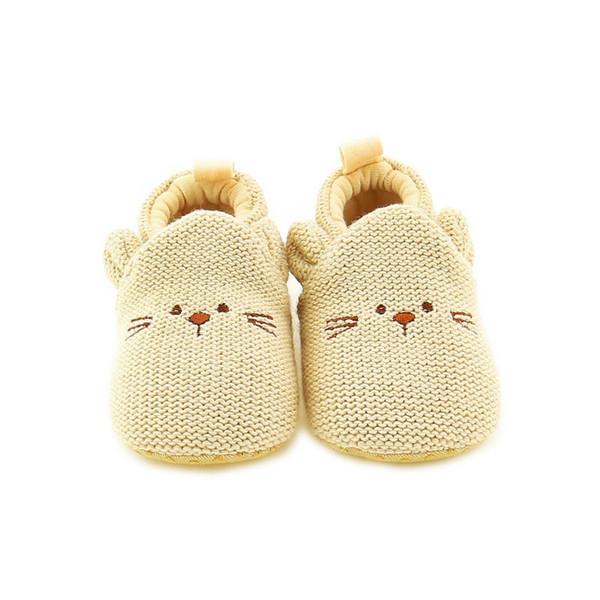 Toddler Newborn Baby Girl Boy Soft Sole Cute Crib Shoes Slipper First Walker Cute Cartoon Anti-slip Sneaker Baby Shoes