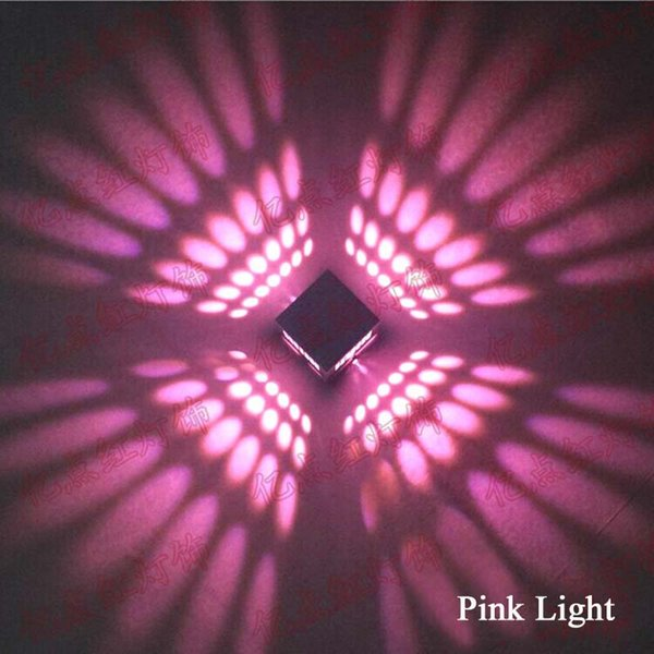 3W 핑크 라이트