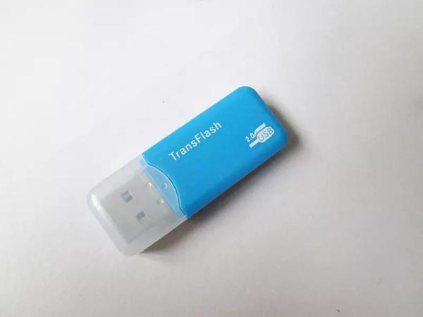 Wholesale 2.0 card reader TF dedicated drive free mini card reader, memory card reader