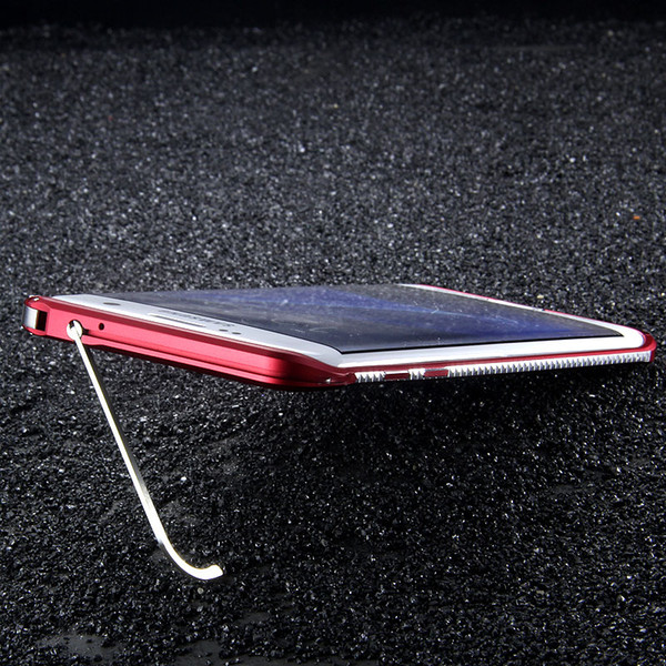Custodia rigida in alluminio in alluminio con design a forma di diamante originale per Samsung Galaxy S7 / S7