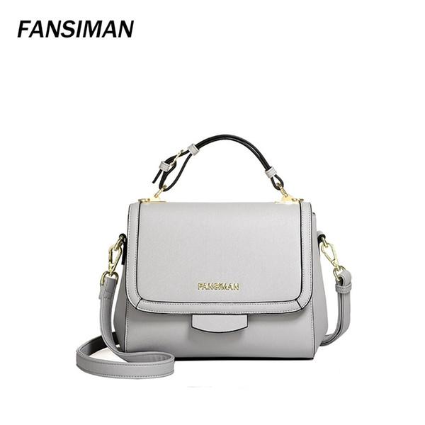 Fansiman 2018 bolso de la nueva llegada bolsos crossbody para las mujeres de moda embragues negro / gris / bolso de hombro rojo bolsos mujer