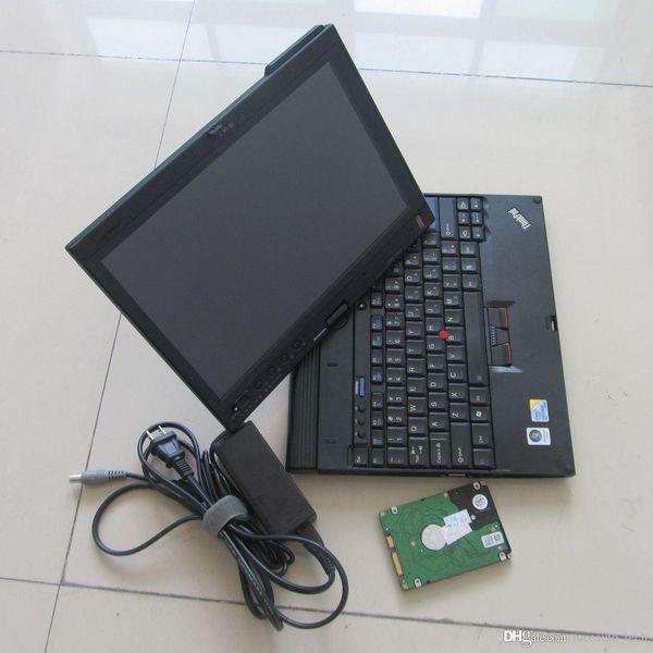 Reparación de automóviles Alldata y Mitchell en computadoras portátiles ThinkPad X200t alldata v10.53 con mitchell 5.8 en HDD de 1TB instalado sin DHL