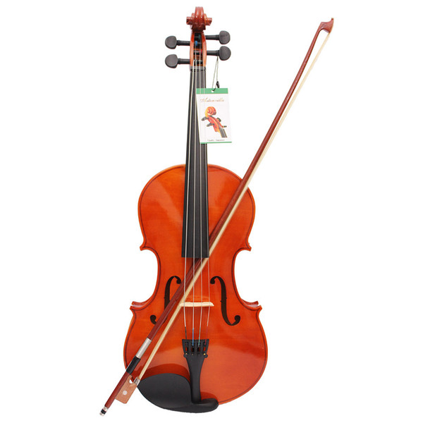 top popular 4 4 Full Size Solid Maple Viola of 16 Inch with Case Bow Bridge Rosin and Strings 2021