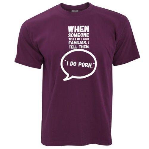 Quand Alguém Me Diz EU OLHO Familier T-Shirt Hommes