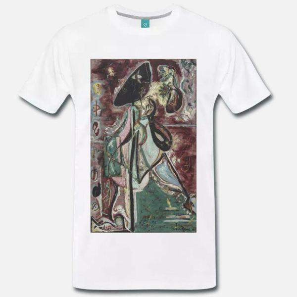 T-SHIRT MAGLIA JACKSON POLLOCK LA DONNA LUNA - OPÉRA D'ARTE - T-shirt XL