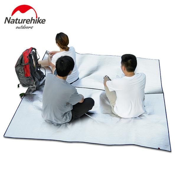 NatureHike 2-3 personas acampar estera plegable plegable colchón para dormir estera almohadilla de aluminio resistente al agua EVA al aire libre