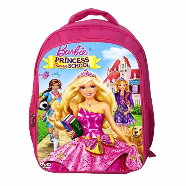 beautiful Princess backpack 42*32*18cm senior primary school backpack children's cartoon junior high school backpack