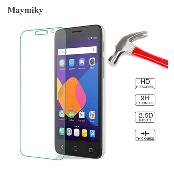 2Pcs 0.26mm 9h Tempered Glass For Alcatel Pixi 3 3.5'' 4.0'' 4.5'' 5.0'' 5.5'' 2015 Screen Protector Class Protective Film