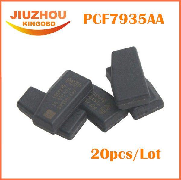 pcf7935 transponder-chip 20 teile / los Autoschlüssel chip pcf7935as, ID44 ID 44 entsperren für alle autos, Auto schlüsselprogrammierer pcf 7935aa