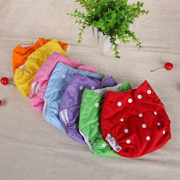 top popular Cloth or mesh Diaper 2018 High Quality Adjustable Reusable Washable Baby Cloth Diaper Nappy Newborn Cloth Diapers 2021