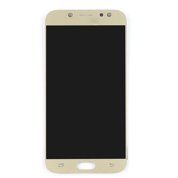 ل J730 LCD الذهب
