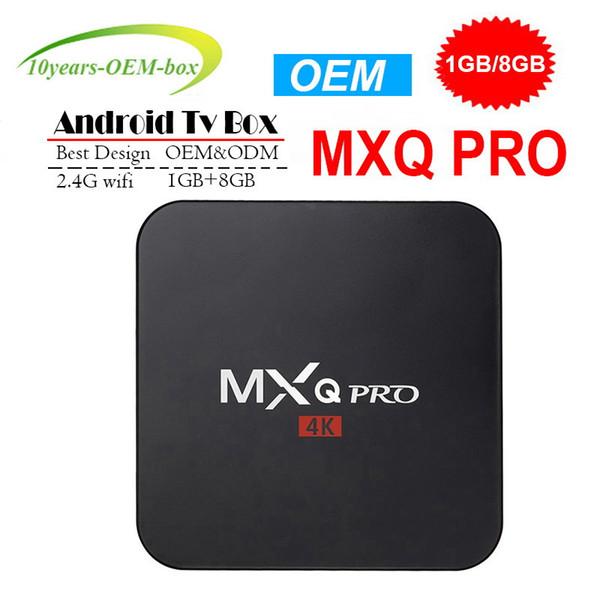 New M95 MINI Allwinner H3 Quad core Android 7.1 1GB 8GB Smart TV Box HDMI2.0 4Kx2K HD 2.4G Wifi Streaming Media Players MXQ PRO 4K RK3229